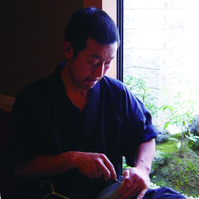 草履の職人 京都・一脇展