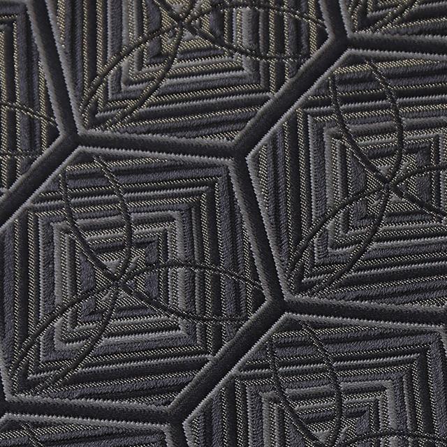<新色> 袋帯 絹彫 レリーフ ~亀甲~